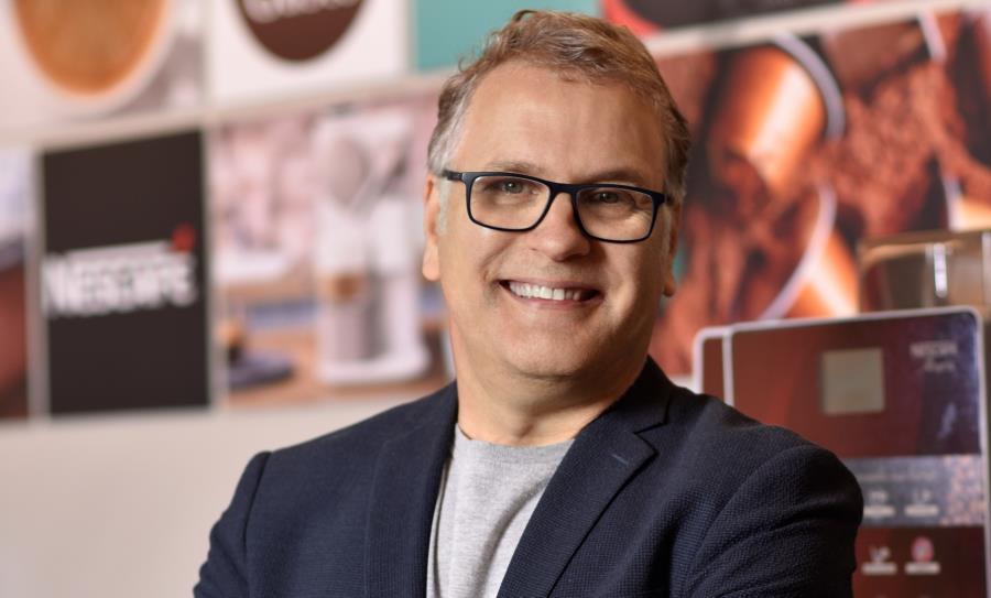 """""""Estruturamos um laboratório interno de pesquisas na Nestlé no Brasil, o C-lab, que consegue ter a mão no pulso do consumidor"""", afirma Frank Pflaumer"""