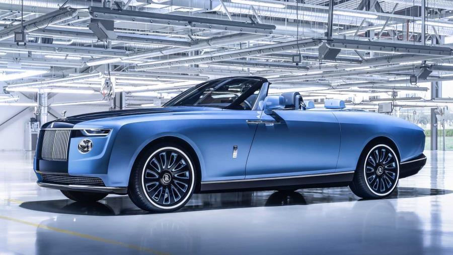 Inspirado no universo náutico, Rolls-Royce Boat Tail propõe ser um contraponto ao luxo industrializado