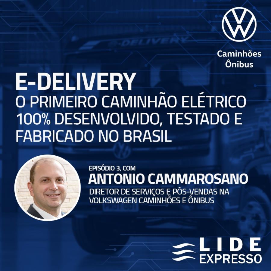 LIDE Expresso: 100% elétrico, novo VW E-Delivery já sai de fábrica com inovações tecnológicas que facilitam o dia-a-dia